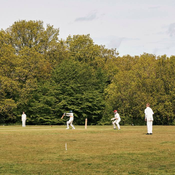 Young members of Buckhurst Hill Cricket Club
