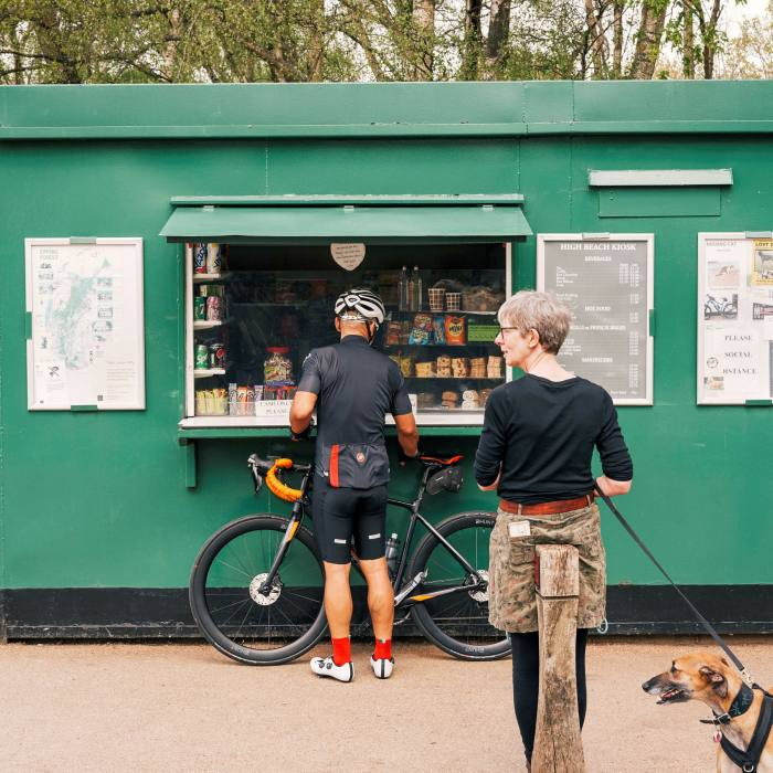 Epping Forest's High Beach Kiosk: a perfect pit-stop...
