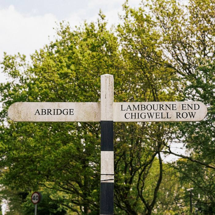 The ascent from Abridge to Lambourne End marks the final stretch of the route before heading home