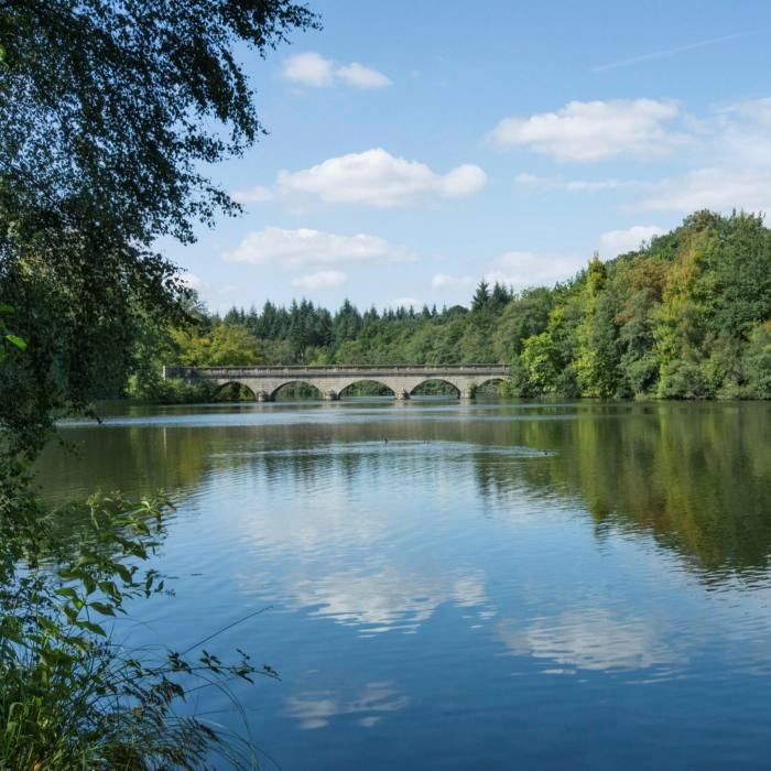 Virginia Water was created by William Augustus, Duke of Cumberland, in the 18th century