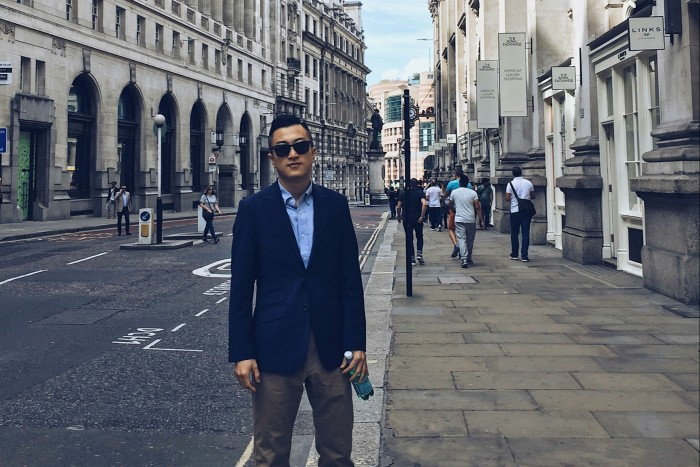 Warren Jia, a 29-year-old IT worker in Shanghai who studied at Glasgow university in Scotland, says he is pursuing overseas investment