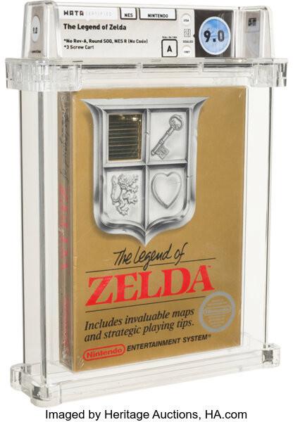 Legend of Zelda original rare cartridge