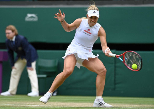 2018 champion Kerber produced a superb performance to down Gauff