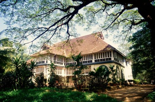 CE6AE2 Bolghatty palace hotel ; Bolgatty Island ; Mulavukad ; Cochin ; Kochi ; Ernakulam ; Kerala ; India ; Asia