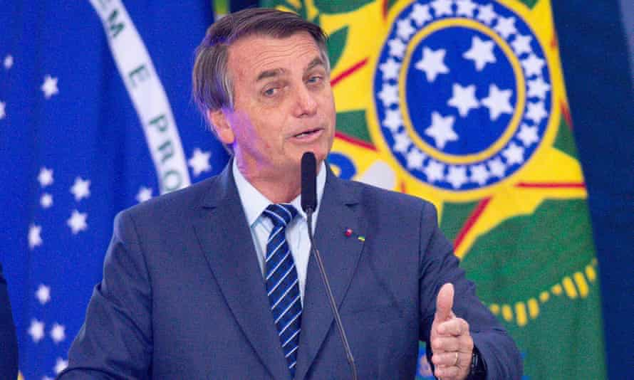 Brazil's president, Jair Bolsonaro, took office in January 2019 vowing to 'forever free the fatherland from the yoke of corruption'.