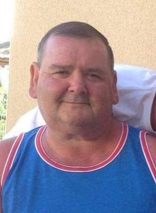 Bobby Gamlin, 56, a former security guard, collapsed on a shopping trip near his home in Cardiff in February