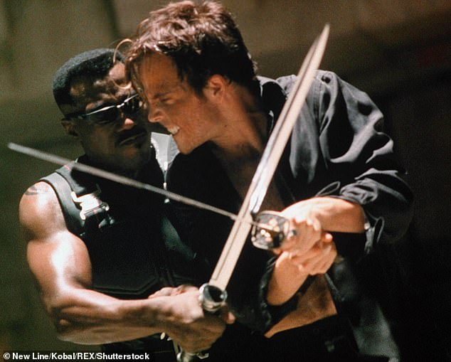 Role: Stephen alongside Wesley Snipes in the comic book action flick Blade (1998)