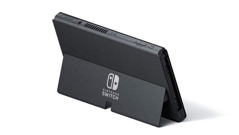 Nintendo Switch OLED kickstand