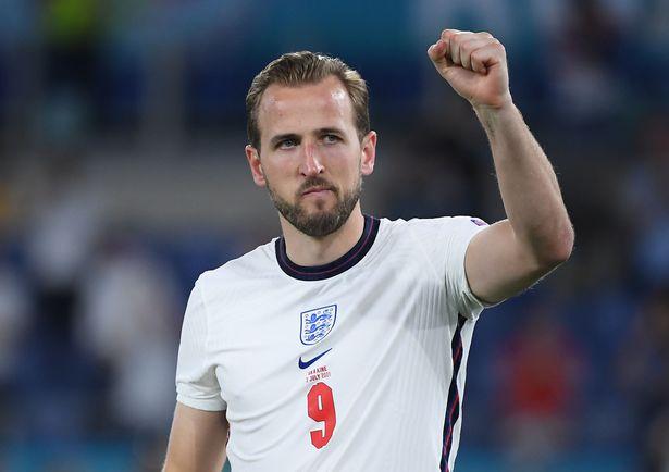 Harry Kane has scored three goals at Euro 2020