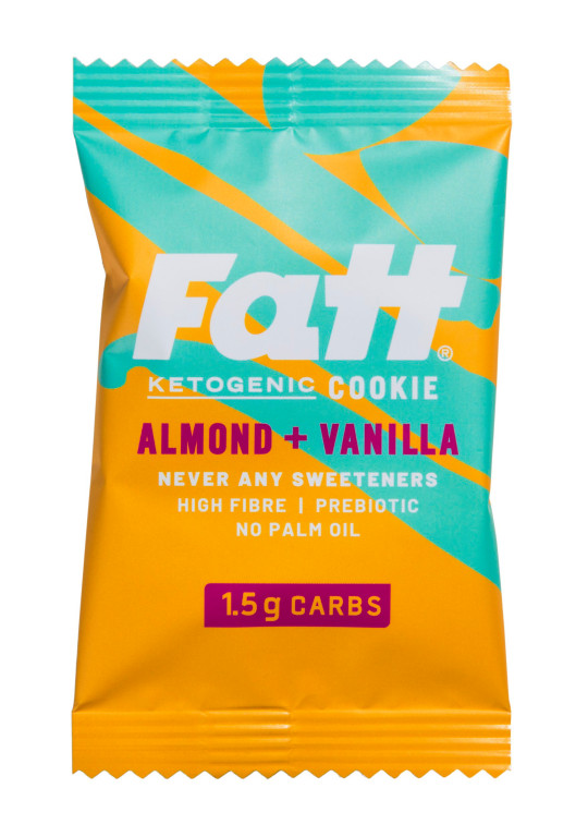 Fatt Almond and Vanilla Ketogenic Cookie