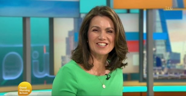 Susanna - his co-presenter - sent her well wishes