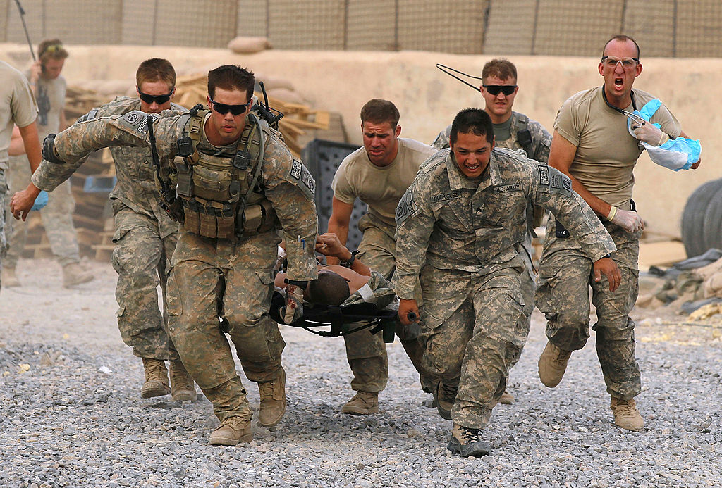 US troops in intense combat operations in the south of the country