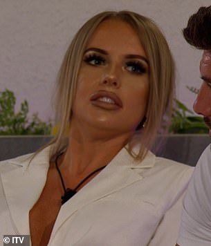 Not impressed! Faye was branded a bully for her behaviour, with many pointing out that her partner Liam admitted he has no problem dating someone already in a relationship