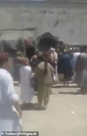 Prisoners escape from the Qala-i-Naw prison