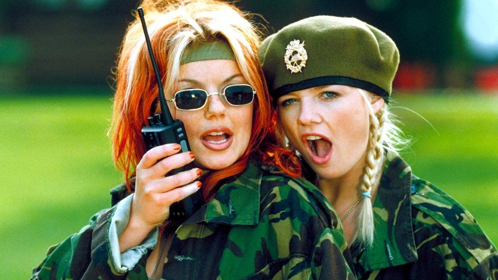 A scene from Spice World the Movie
