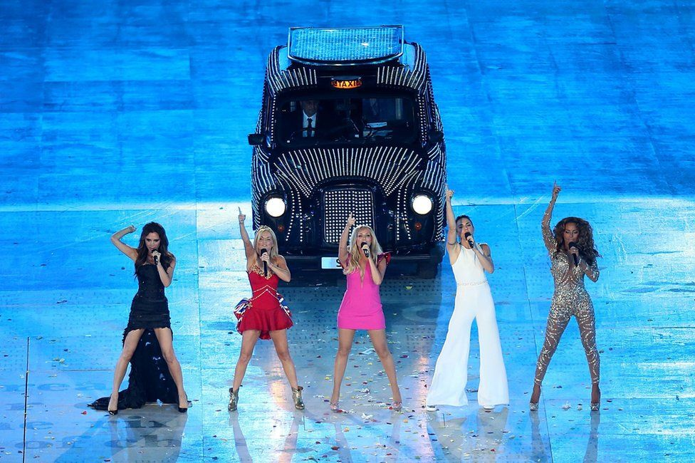 Spice Girls at the Olympics