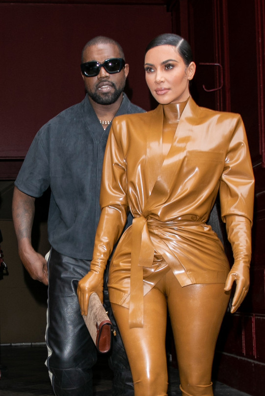 Kim Kardashian and husband Kanye West