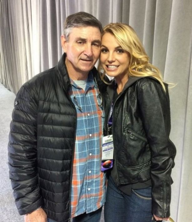 Britney and her father Jamie Spears