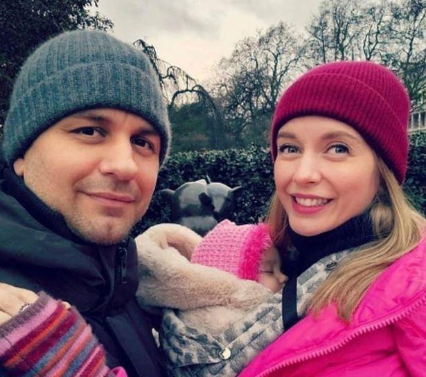 Rachel Riley and Pasha