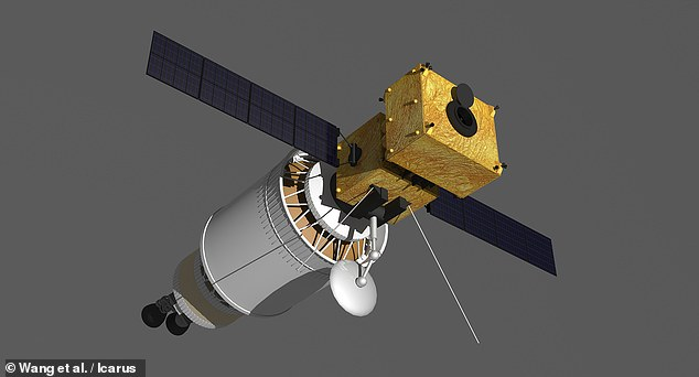'Asteroid impacts pose a major threat to all life on Earth,' wrote paper author and space science engineer Mingtao Li of the National Space Science Center in Beijing. Pictured: one of the Assembled Kinetic Impactors that the researchers say could be used to deflect Bennu