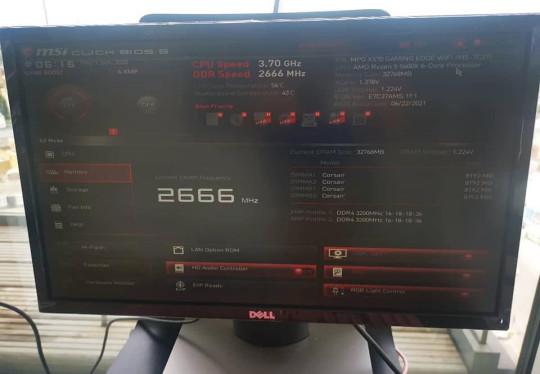 Gaming PC BIOS