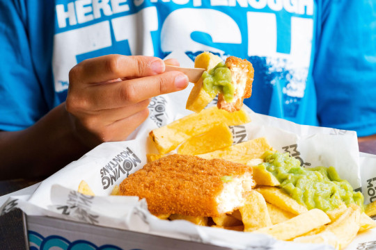 Try a free chippie tea with a plant-based twist