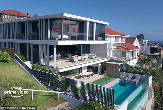 How the other half lives: Among the luxurious homes up for sale is a multi-level property in the coastal suburb of Dover Heights, which is listed for $10million