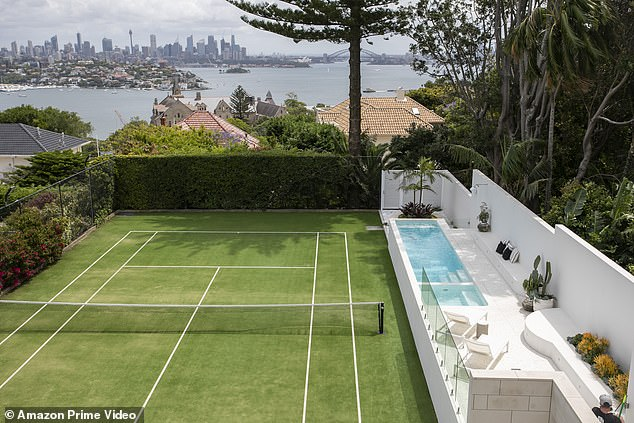 Epic views: Luxe Listings Sydney gives viewers unprecedented access to some of the most incredible houses. Pictured the incredible view of Sydney harbour from one home featured
