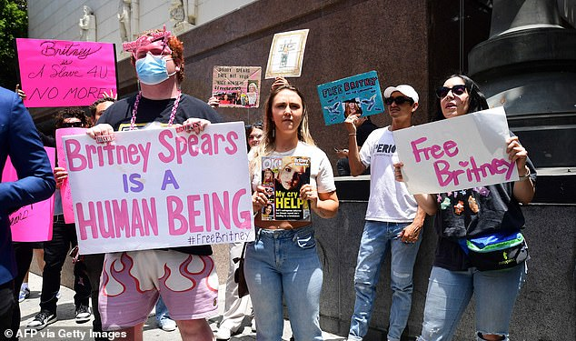 Human rights: Many #FreeBritney supports and Hollywood elites have echoed the sentiments that her situation is a human rights violation