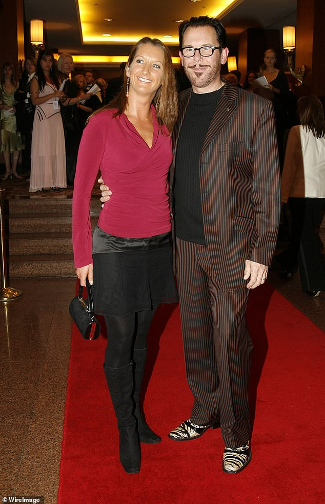 Flashback:They met in Sydney's Dee Why on the Northern Beaches after promising mutual friend Jon Stevens they would go on a date. (Pictured 2006)