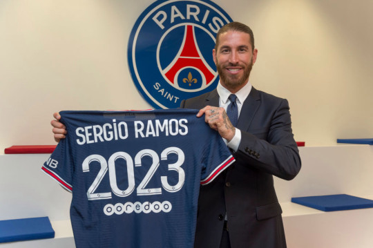 Sergio Ramos has signed a two-year deal with PSG