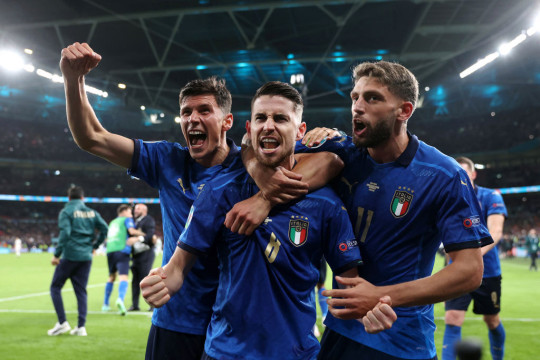 Jorginho has been one of the stars of the tournament for Italy
