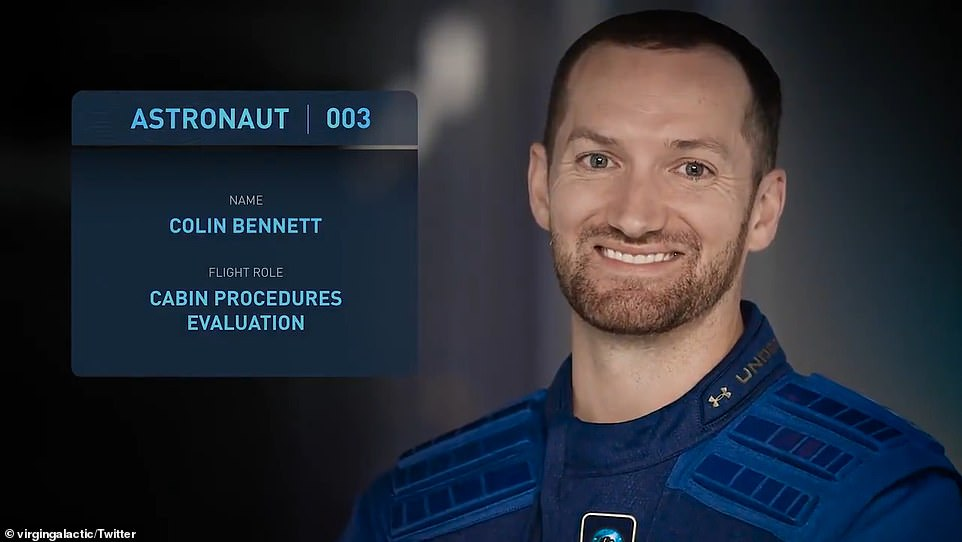 Colin Bennett, the company¿s lead operations engineer, will also join the flight