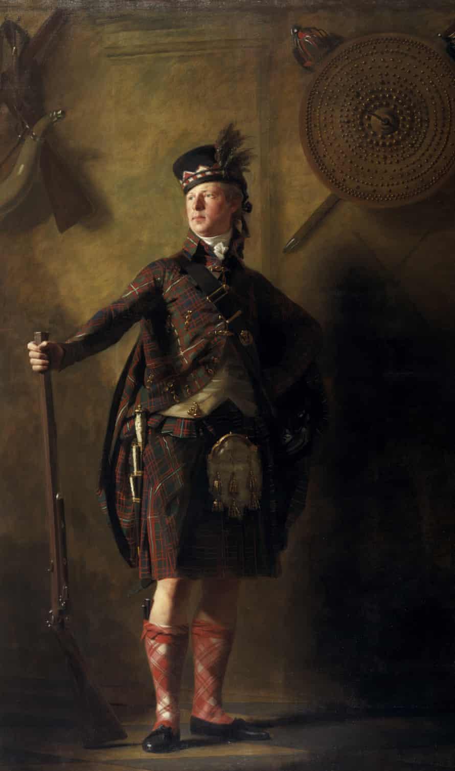 Col Alexander Ranaldson Macdonell of Glengarry c.1812 by Henry Raeburn