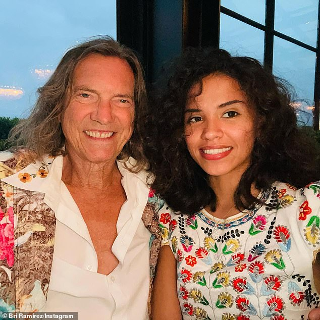 'Date night!' Bill - who got engaged to Brianna 'Bri' Ramirez(R, pictured May 15) during season two of the Lifetime show - will not face charges for assaulting a minor because the age of consent is 17 in Texas