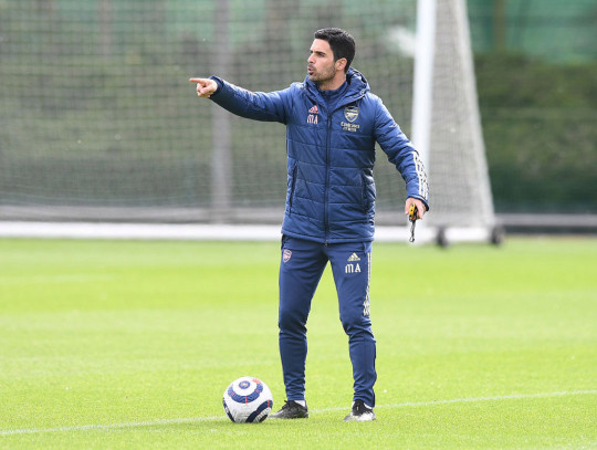 Arteta is looking to bolster his midfield options