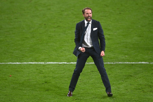 Southgate's side are one win away from Euro 2020 glory