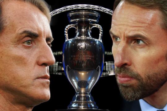 Mancini and Southgate go head-to-head at Wembley