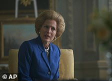 Gillian Anderson in The Crown forSupporting Actress in a Drama Series