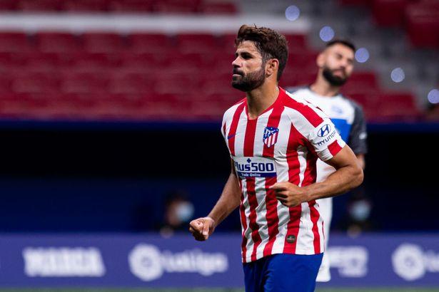 Diego Costa left Atletico Madrid in December 2020