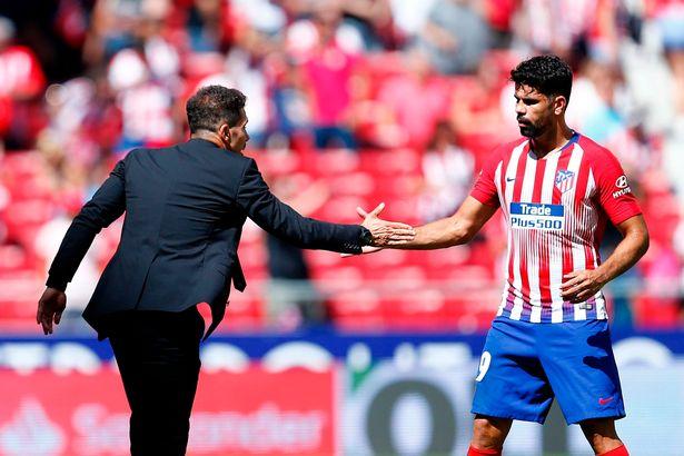 Diego Costa found happier times under Diego Simeone at Atletico Madrid