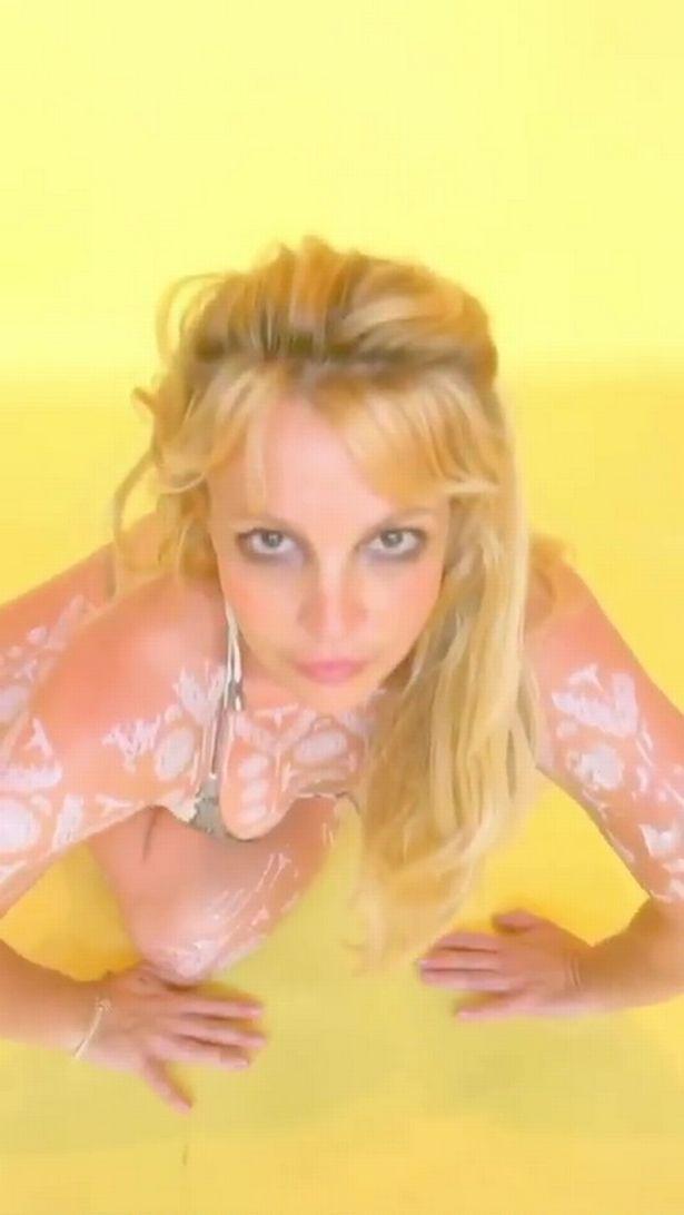 Britney Spears dance video