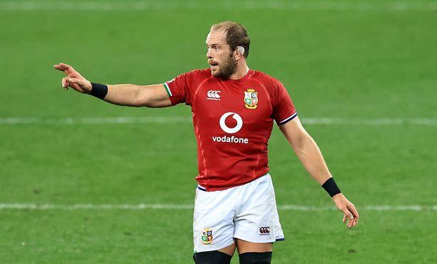 Lions captain Alun Wyn Jones