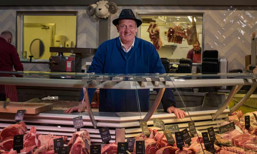 Master butcher Dave Morland lives and breathes the 'nose to tail' ethos of the services' butchery.