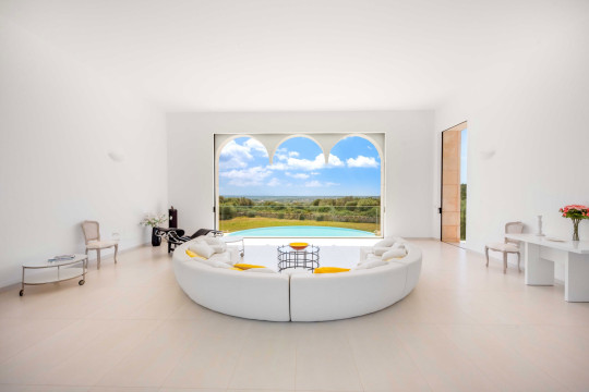 love island villa in mallorca, spain