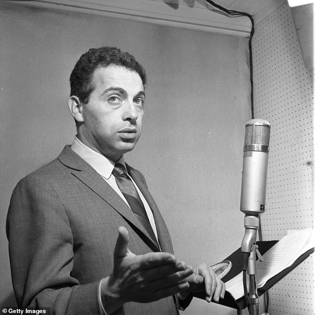 Seen here recording his album I Want To Leave You With The Words Of A Great Comedian in 1963:Mason's acerbic brand of comedy was undeniably Jewish, helping to establish him as a cultural touchstone for those that would follow, including Larry David and Jerry Seinfeld