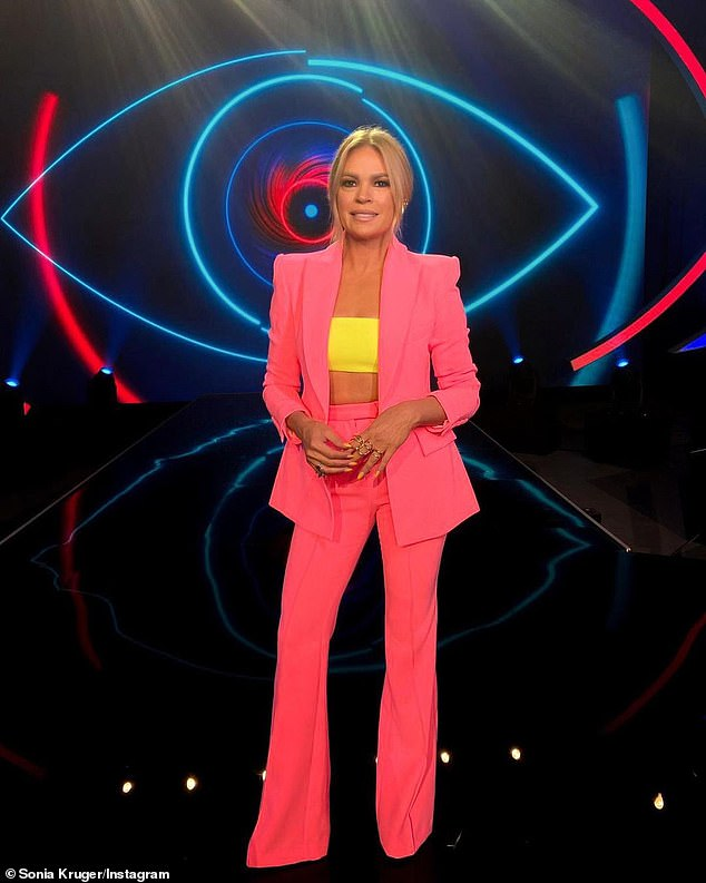 Coming soon: Filming of Big Brother VIP is set to begin at a purpose-built complex at Sydney Olympic Park in the coming months. The program will air on Channel Seven later this year (Pictured: Host Sonia Kruger)
