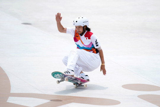 Momiji Nishiya is Japan's youngest-ever Olympic medalist