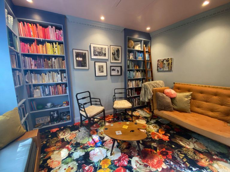 Eclectic home / gallery space in a former public house in Twickenham, South-West London.