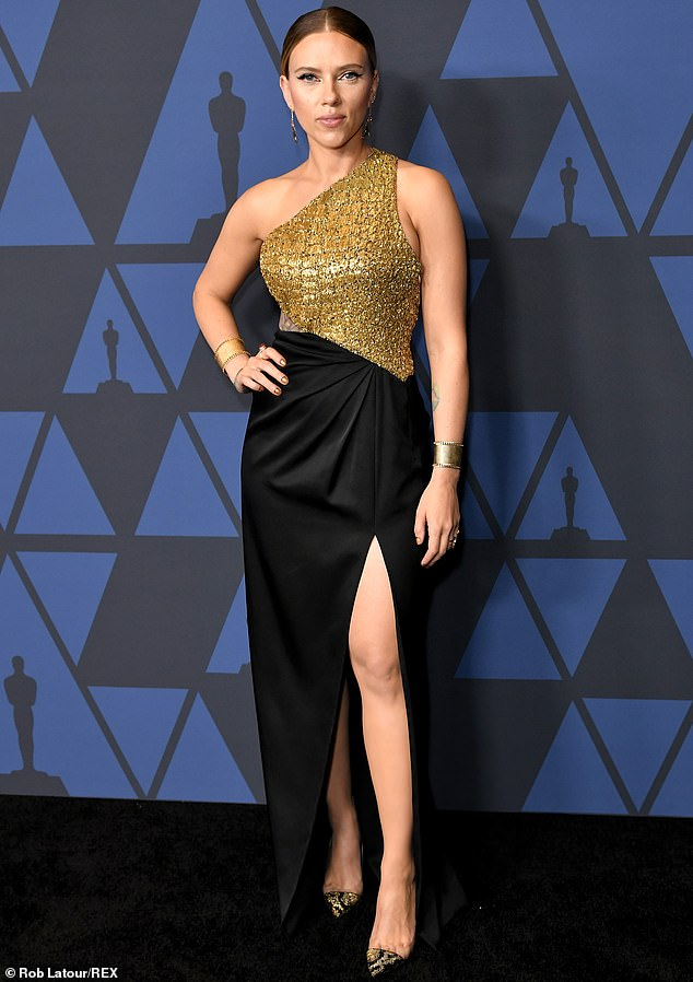 On the A list: 'She's an old friend of mine so I felt bad about that comment,' he added. The looker at the Governors Awards in Los Angeles in 2019